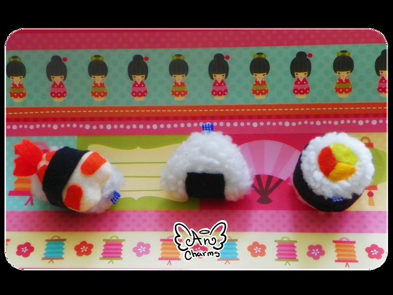 .: Sushi Team :. by Angeru-Charms