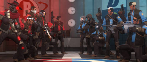 Team Standoff by AgentVigilante