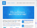 Headlines Layout Preview