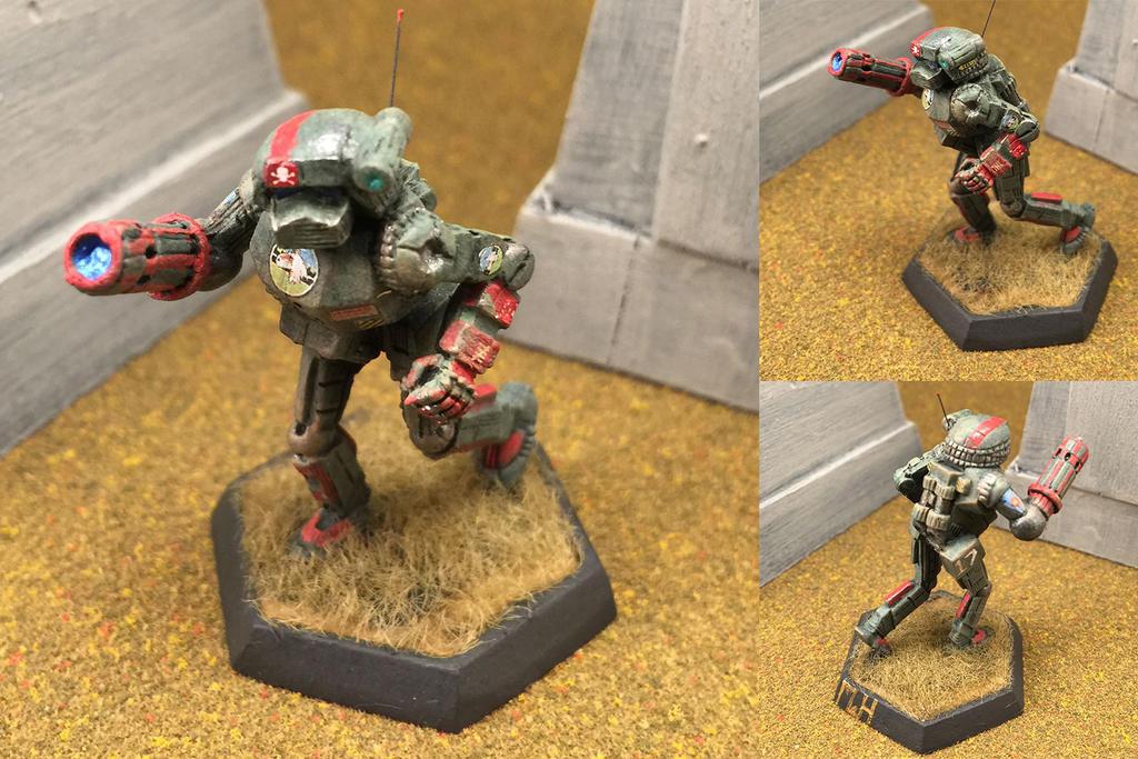 Aliesha's Mounted Fusiliers Vindicator by Viereth