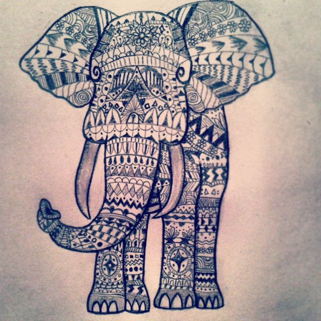 1000+ images about elephants on Pinterest | Tribal ...