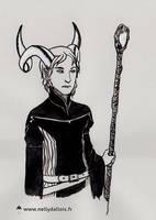 InkTober #4 by LaSentinelle