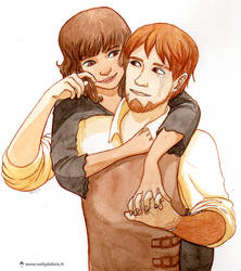 Sylva et Bo by LaSentinelle