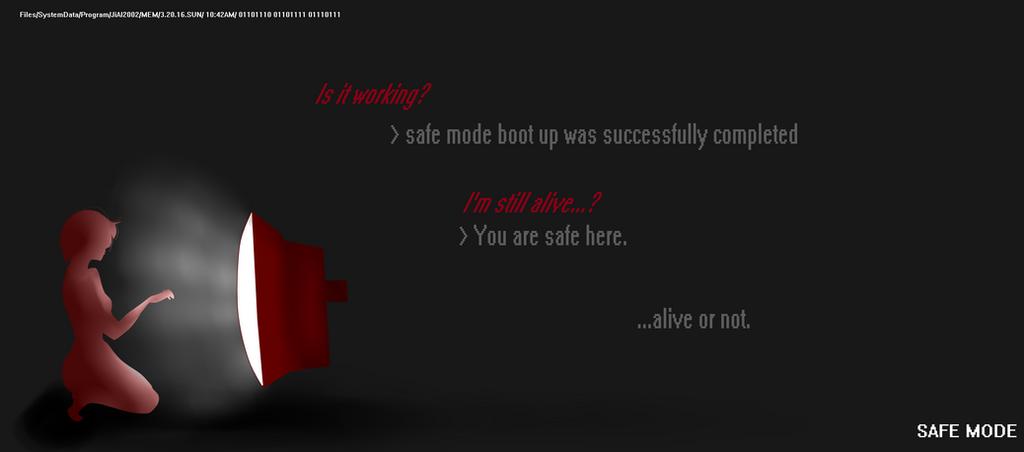 A Safe Place. by ZER0--ART