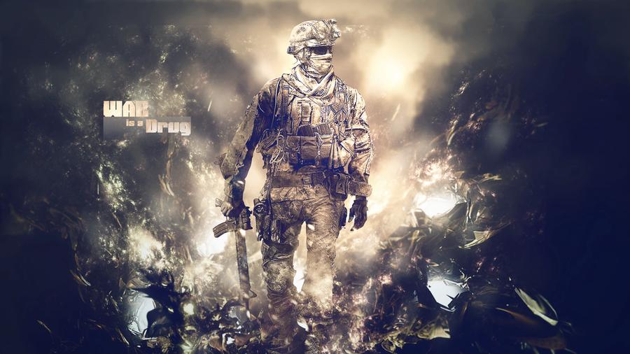 MW2 War Is A Drug Wallpaper By MarkyDMan