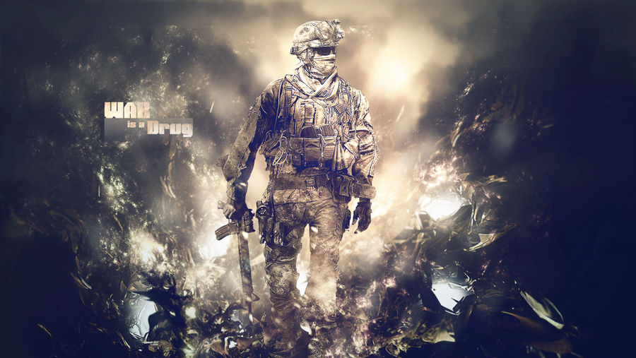 MW2 'War is a Drug' Wallpaper
