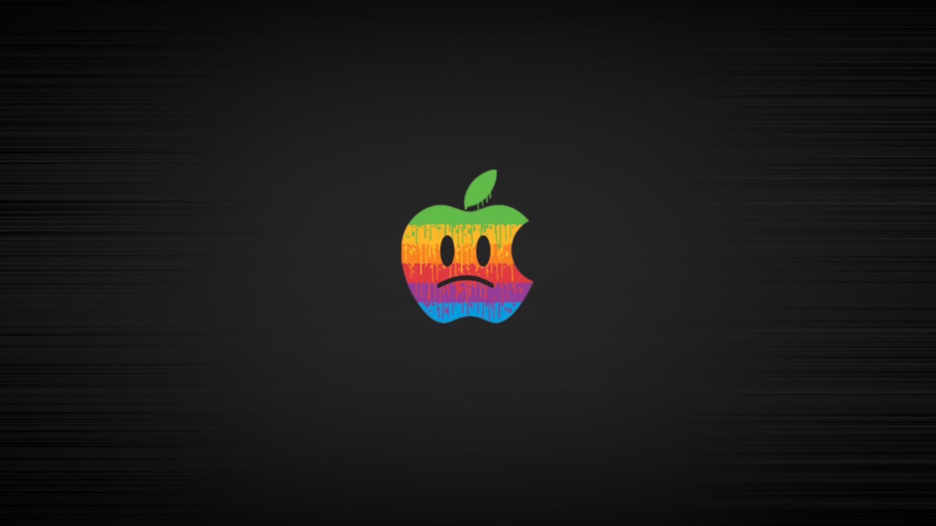 sad apple by altimithack3r d4c1v6i