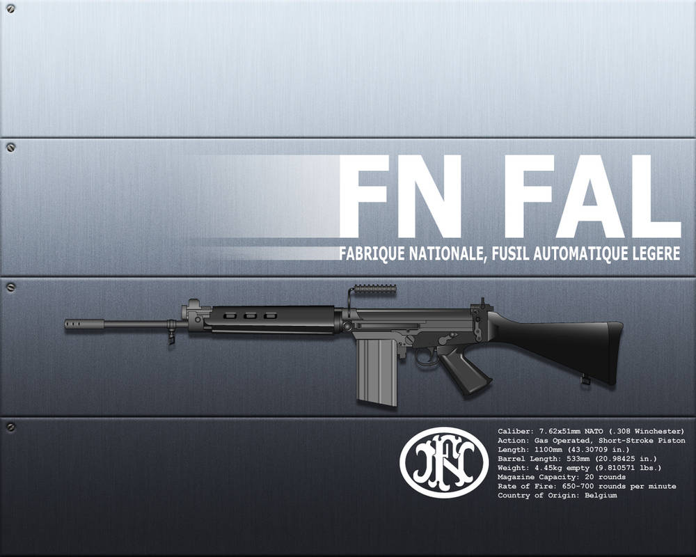 FN FAL by corax on DeviantArt