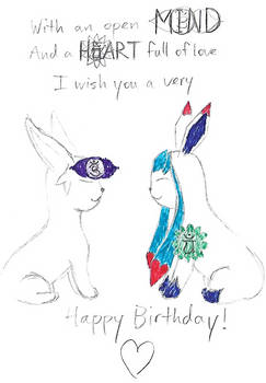 Happy Birthday Glacie!