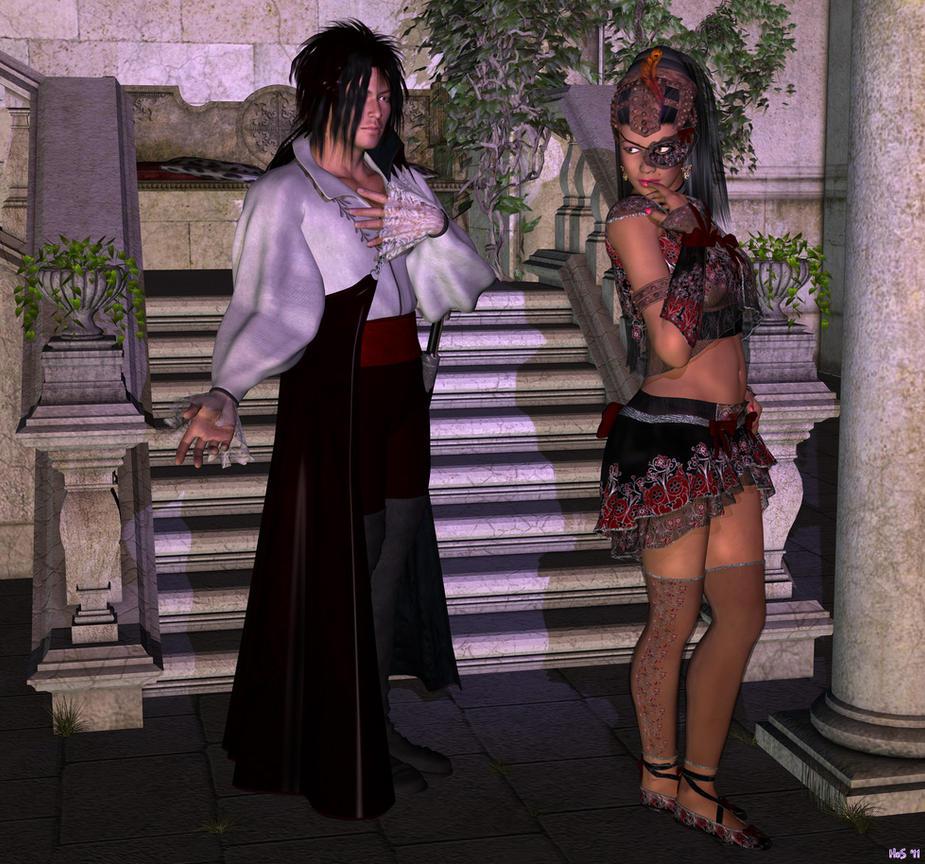 Tancredius and Carmencita by Hera-of-Stockholm