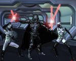 Darth and the Sithzilla Sisters