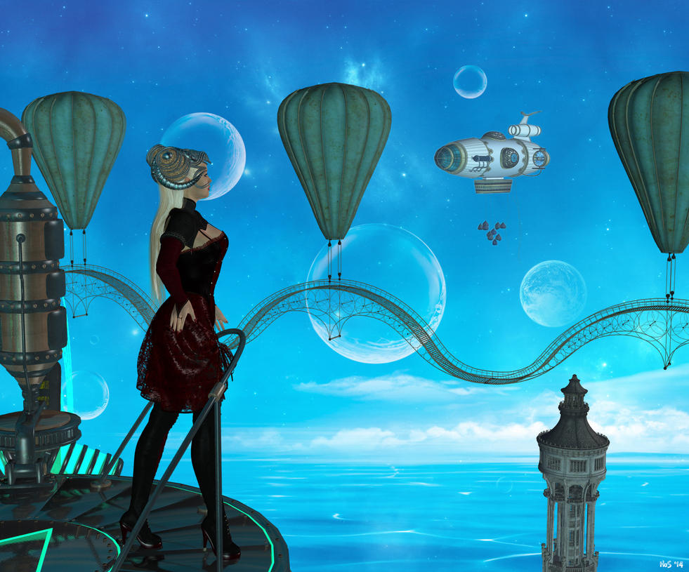 Waiting for the Celestionauts by Hera-of-Stockholm