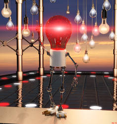 Lord of the Light Bulbs by Hera-of-Stockholm
