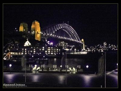 .the sydney Harbour bridge. by diamond-insane