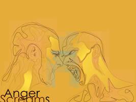 Anger Screams by Tijgerkat