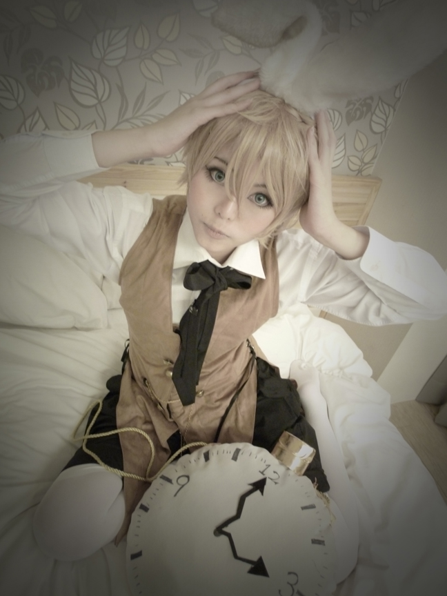 Alice in musicland Len by Asuka10