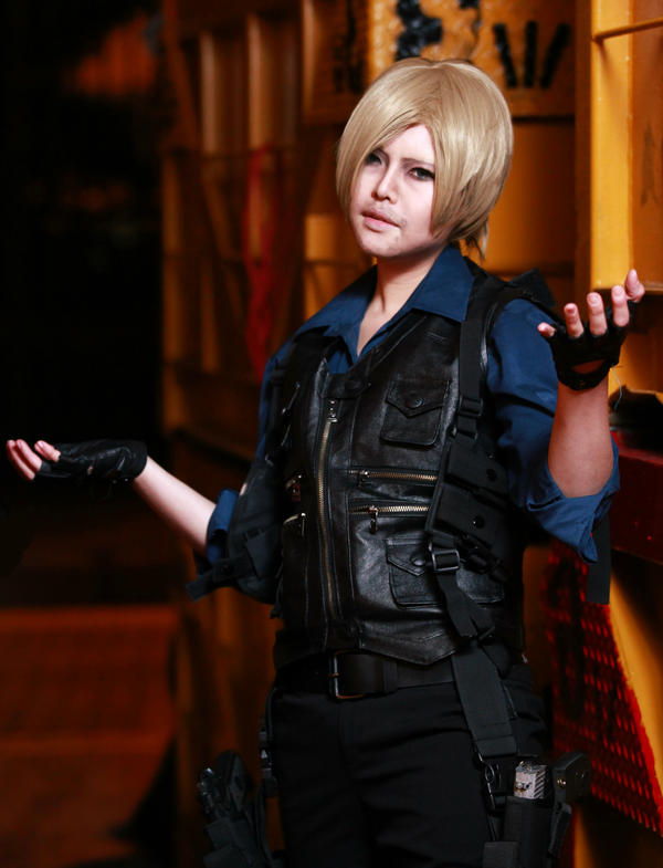 Check and Mate buddy Resident evil 6 by Asuka10