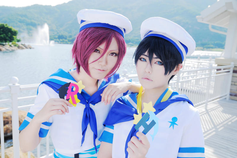 Free Rin and Haru by Asuka10