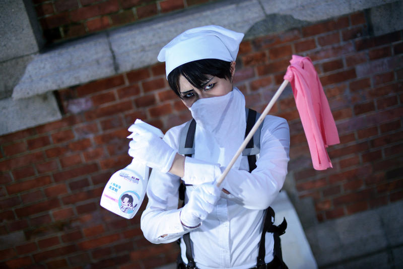 Levi Heichou [Ready to get cleaning?] by Asuka10
