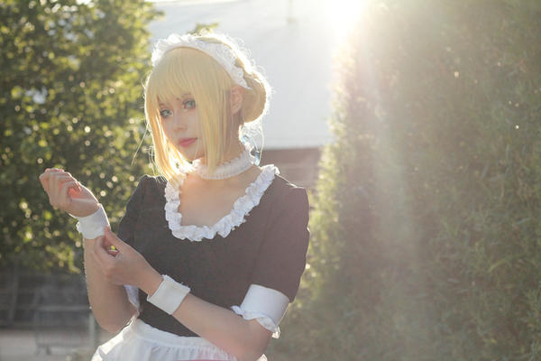 Fate/Stay Night Maid ver by Asuka10