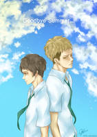SnK - Jean x Eren Goodbye Summer by tifl429