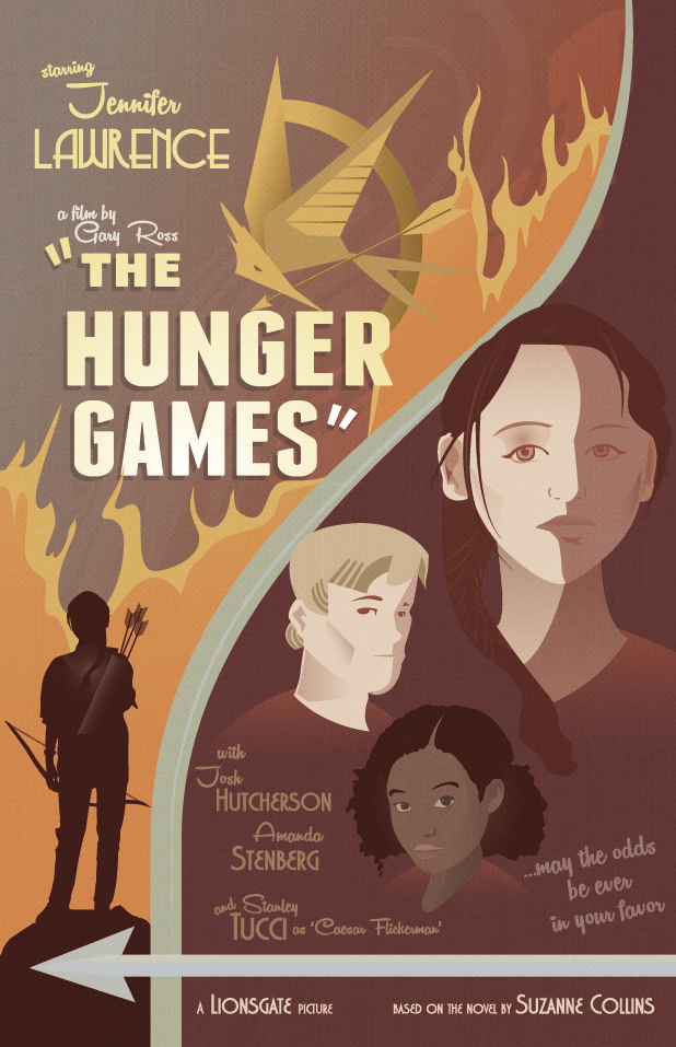Hunger games poster circa 1930 by timothyreese on deviantart hunger games poster circa 1930 by timothyreese voltagebd Image collections