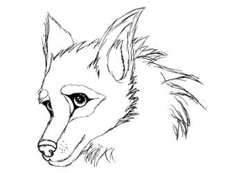 wolf by neonate0