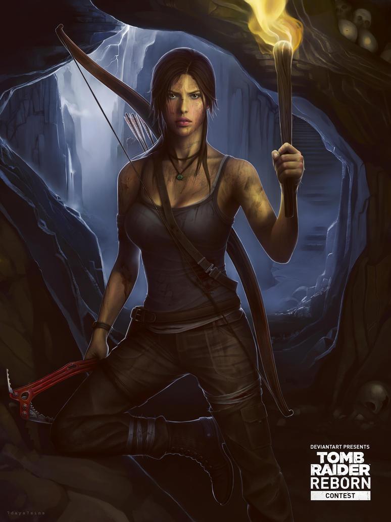 Tomb Raider REBORN. Lara Croft. by 7days7sins