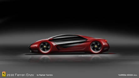 2030 Ferrari Enzo by TaorminaDesign