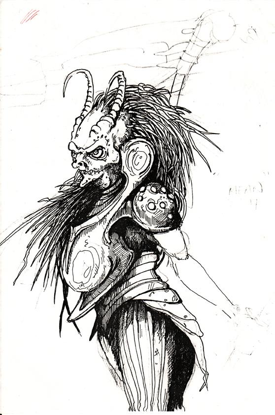 devil women sketch by unholy