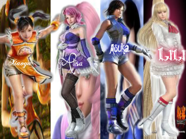 My Fav Tekken Girls By Tokiarika On Deviantart