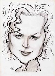Nicole Kidman by WilliamGioachino