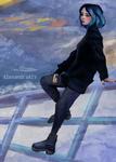 bluish by AlexandraAlV