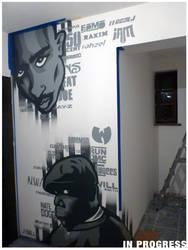 2Pac and Biggie At Sound Hostel