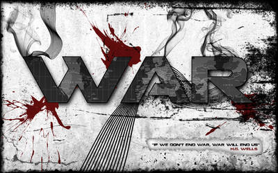 WAR wallpaper by TheSaulOne