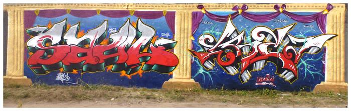Prison Jam Czarne 2014 Saul Erza by TheSaulOne