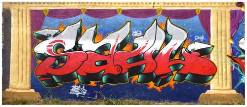 Prison Jam Czarne 2014 Saul by TheSaulOne