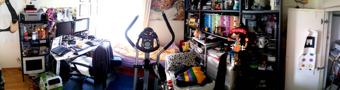 My Room by AmmarkoV1