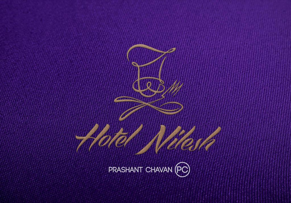 hotel Nilesh Logo design in embroidery