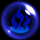 Blue Flame Orb by ChibiMai