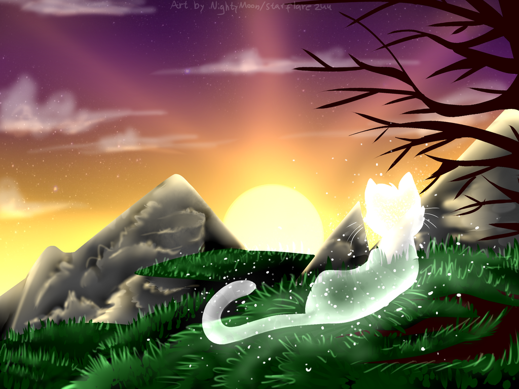 Starclan is always welcoming you. by Starflare244