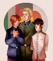 Hetalia Axis Powers by WyllowDow