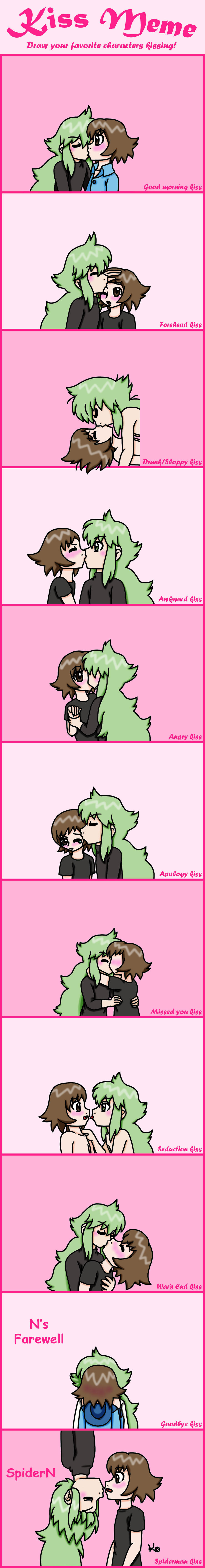 Kiss Meme - N x Hilbert by LoveTails on DeviantArt