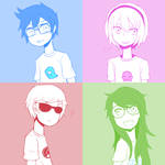 Homestuck Kids