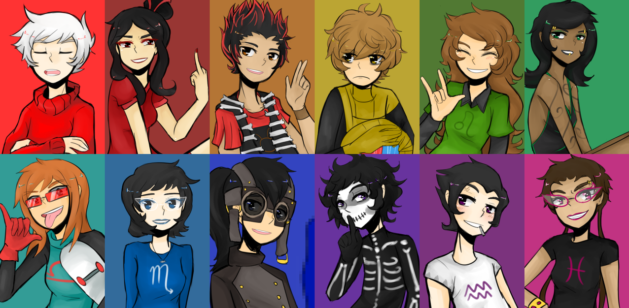 Humanstuck Pre Scratch Version By Rolling Mozaik