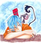 AnE- Rin and Kuro