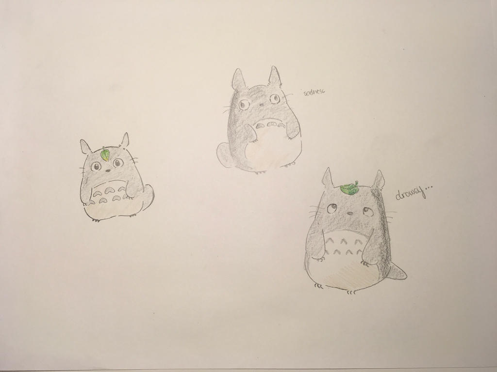 Totoro - PureDefinitionOfRandomDoodles by BlueJay31704