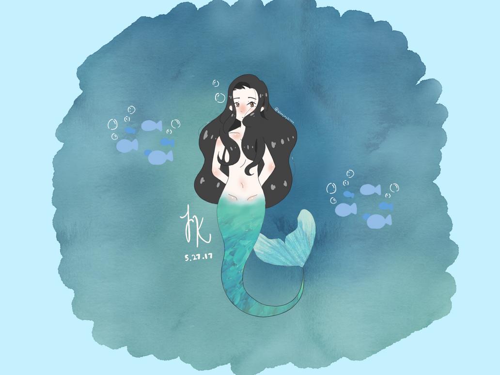Mermaids?! Mermaids. - RandomDoodle by BlueJay31704