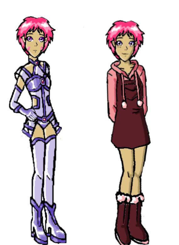Code Lyoko: Aelita (comic redesign) by StarRobGRL
