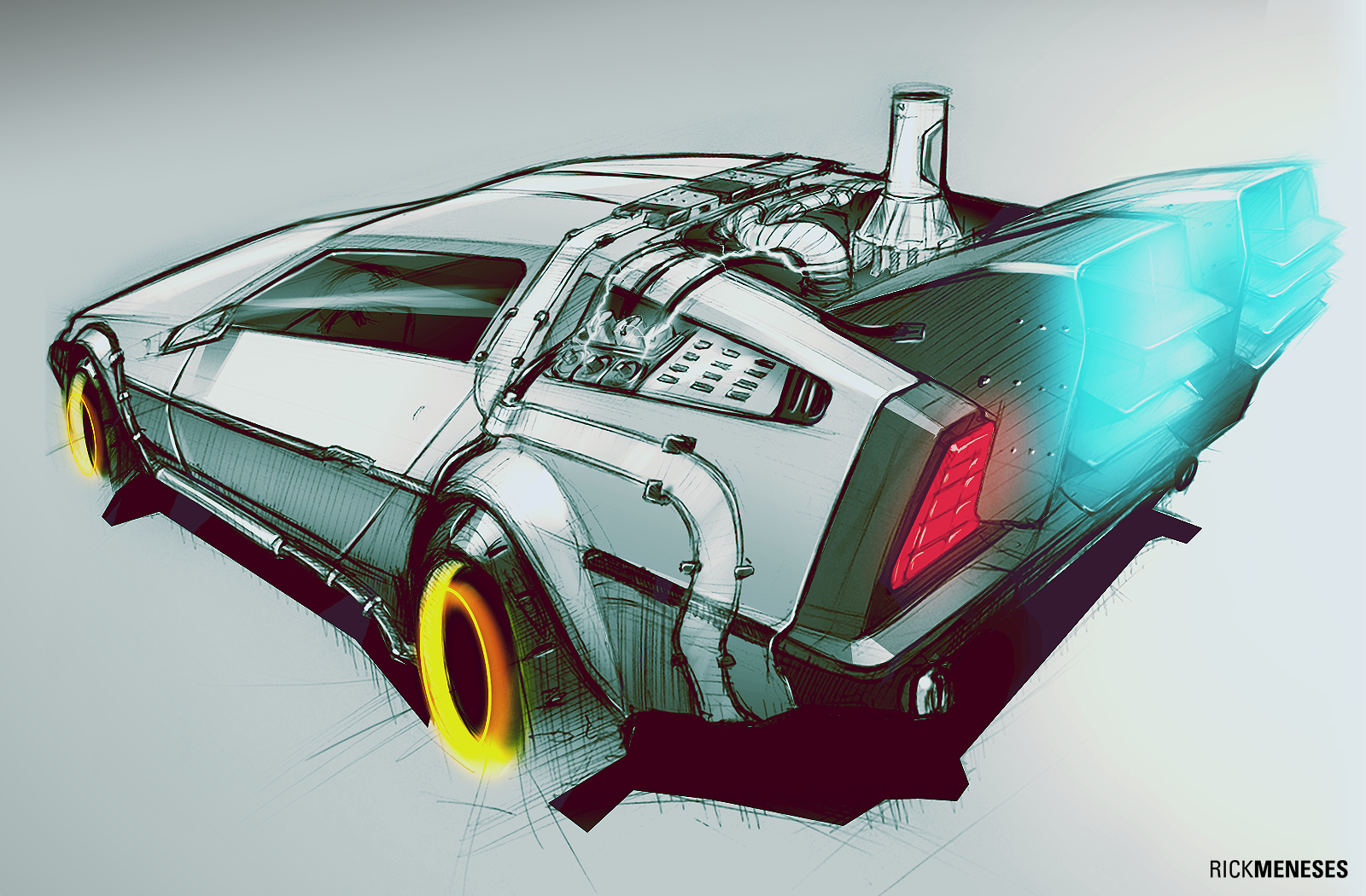 Back To The Future By RickSIC On DeviantArt